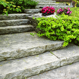 Increase your curb appeal with a new hardscaping feature